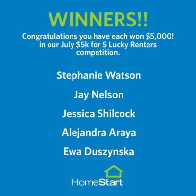 July $5k Winners