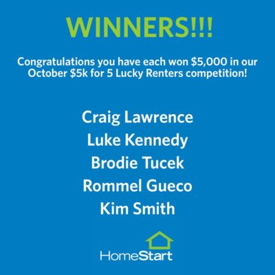 October $5k Winners