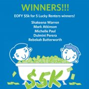 Congratulations to our June Lucky Winners
