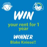 Congratulations to our September Win Your Rent Winner