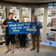 Congratulations to our Lucky September/October Win Your Rent Winner