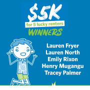 Congratulations to our Lucky November $5K Winners