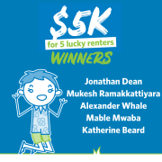 Congratulations to our Lucky January $5K Winners
